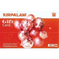 Kirpalani Gift Card SRD 200