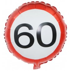 Verjaardag 60 jaar ballon