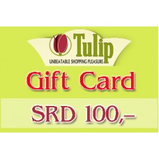 B04 Tulip supermarkt waardebon SRD 100