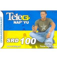 Telesur belkaart SRD 100