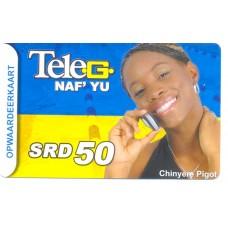 Telesur belkaart SRD 50
